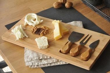 Bambum Fhume 4 Parça Peynir Dünyasi Renkli